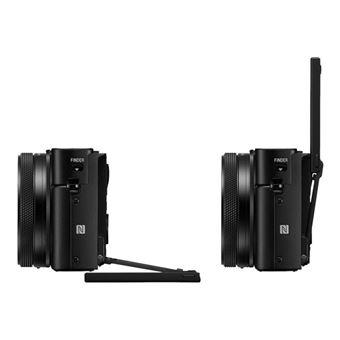 Sony Cyber-shot RX100 VII - Digitale camera - compact - 20.1 MP - 4K / 30 beelden per seconde - 8x optische zoom - ZEISS - Wi-Fi, NFC, Bluetooth - zwart