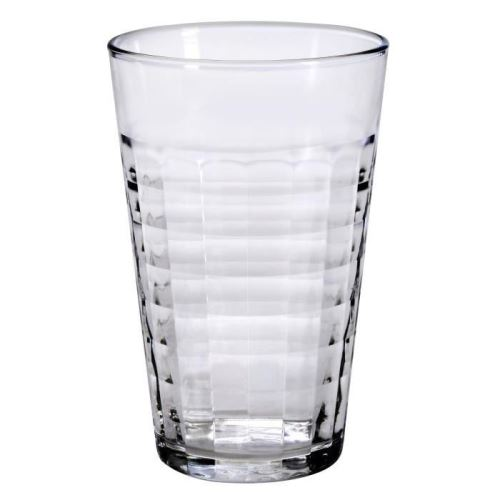 Duralex lot de 6 chopes en verre prisme transparent - 50 cl 592047