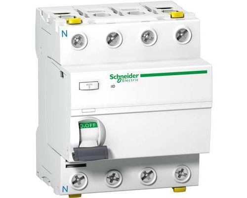 Schneider Electric A9Z21425 A9Z21425 Interrupteur différentiel A 25 A 0.03 A 415 V