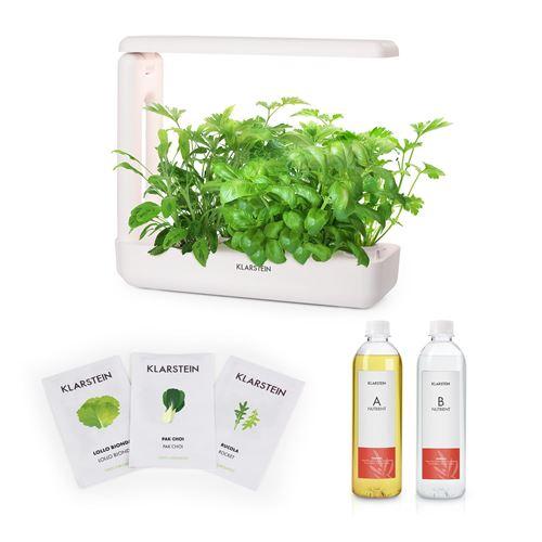 Klarstein GrowIt Cuisine Kit de démarrage Culture Indoor pour 12 plantes - kit de semences Salad Seeds