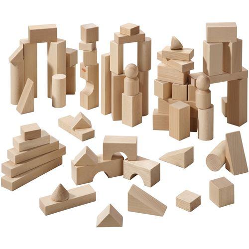 Haba cubes en bois de 60 pièces