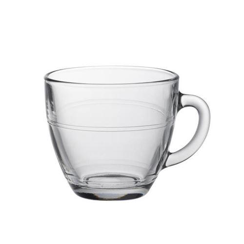 Duralex lot de 6 tasses en verre gigogne - 22 cl 496869
