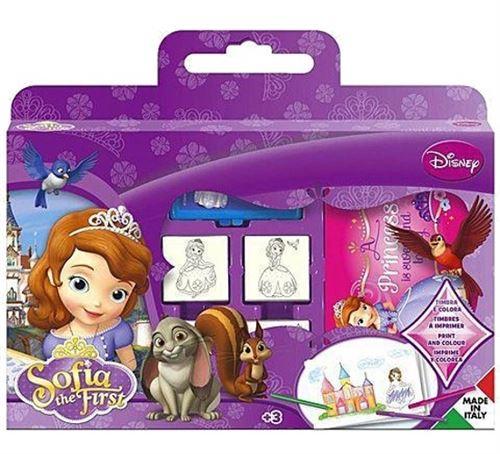 Multiprint ensemble de coloriage Sofia 12 pièces violet