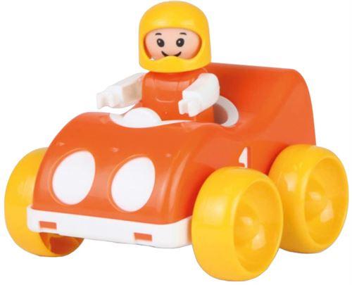 Lena voiture de course My First Racers junior 11 x 9,5 cm rouge/jaune