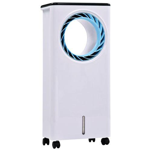 vidaXL Refroidisseur d'air Humidificateur Purificateur d'air 3en1 80 W