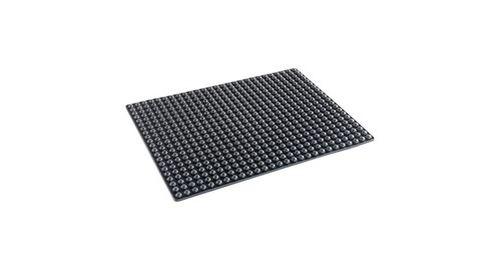 Tapis en silicone anti-graisse - noir