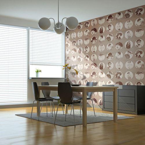 Papier peint | Mode style rétro | 350x270 | |