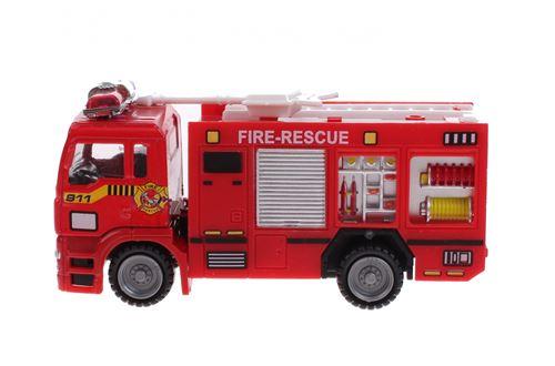 Toi-Toys Camion de pompier en métal rouge 11 cm