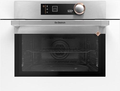 De Dietrich DKC7340W - Four micro-ondes combiné - grill - intégrable - 40 litres - 1000 Watt - blanc