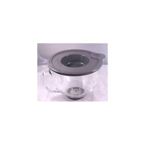 Bol de melange en verre - 4.8ltr pour robot multifonctions kitchenaid - 5658007