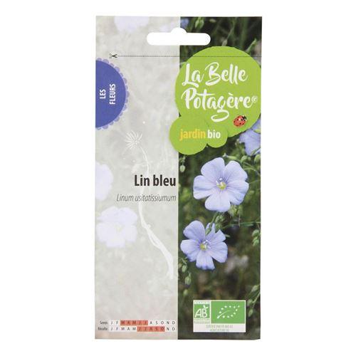 Graines à semer - Lin bleu - 10 g - La Belle Potagère