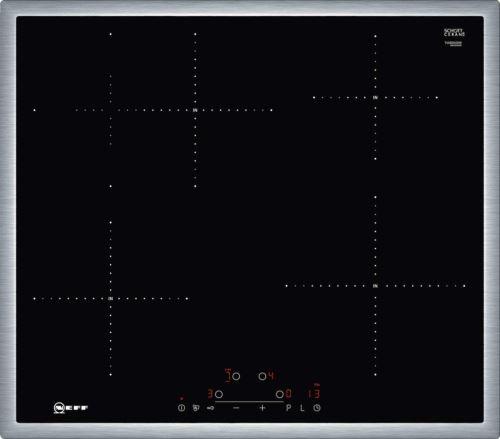 Neff T46bd60 N0 Plaque Électrique/induction/58,30 Cm/de Cuisson En Verre Céramique/noir
