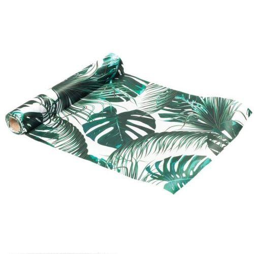 chemin de table satin tropical 28cmx5m