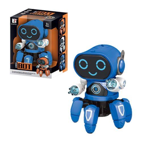Robot Danse Électrique Intelligent Musique Légère Jouets Best Boy Enfants Cadeau YZLWJ135