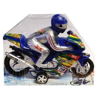 Moto Avec 16 X Friction Cm A Jouet 12 Pilote LMSGjqVUzp
