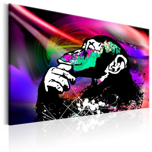 Tableau - Colourful Party - Size: 60x40