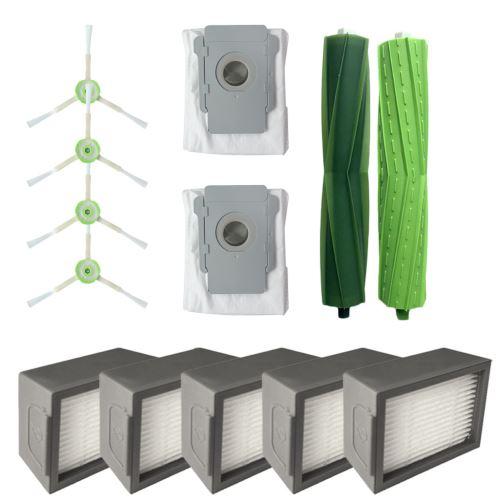 Filtres Pour Brosses et Hepa et sacs élimination Dirt pour Core i7 iRobot Roomba + Core i7 / Core i7 plus E5
