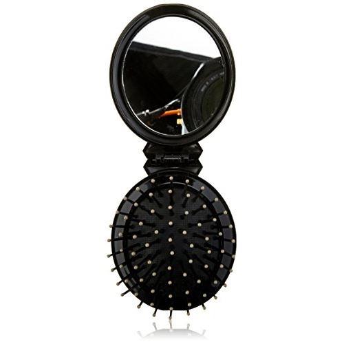 Elite models pop up mini brosse avec miroir
