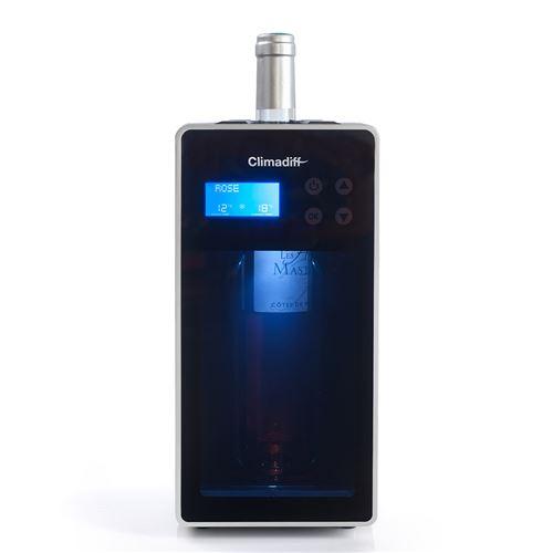 Rafraîchisseur de bouteilles VINICAVE Climadiff - 30 températures prédéfinies pour dégustation de vin dans les meilleures conditions