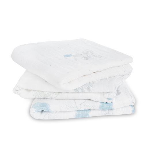 Lot de 3 Langes Musy Night Sky Reverie Aden et Anaïs