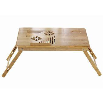 Plateau De Lit Pliable Table Portable Pour Ordinateur Bureau