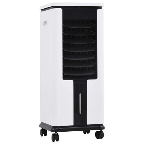vidaXL Refroidisseur d'air Humidificateur Purificateur d'air 3en1 75 W