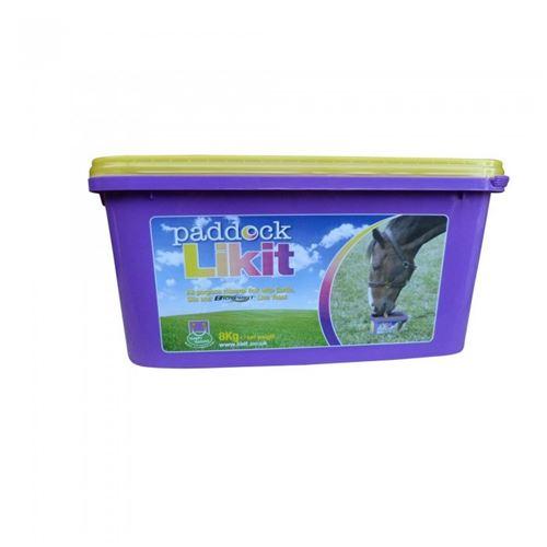 Likit Paddock - Sel à lécher - Cheval (8 kg) (Bleu) - UTTL2195