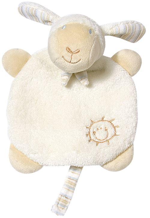 Fehn couverture câline crème de mouton 20 cm