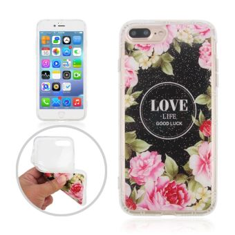 coque iphone 7 plus pivoine