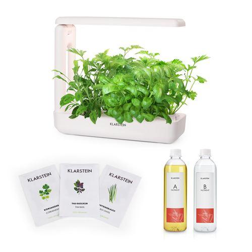 Klarstein GrowIt Cuisine Kit de démarrage Culture Indoor pour 12 plantes - kit de semences Asia Seeds