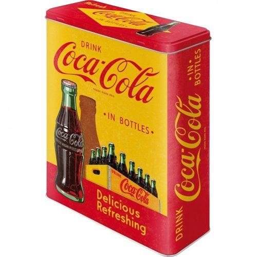Grande boite Coca Cola