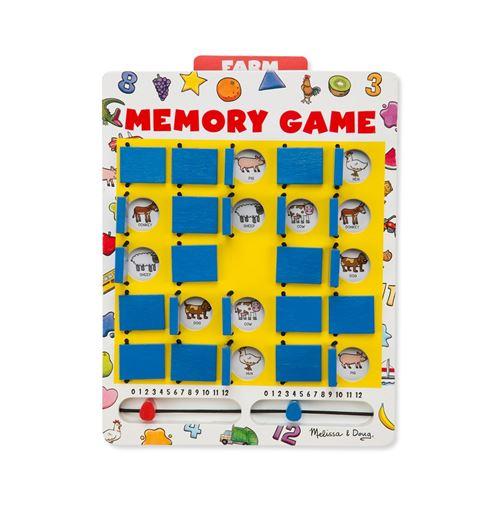 Melissa & Doug jeu pour enfants Memo junior 29,5 x 21,5 cm bois
