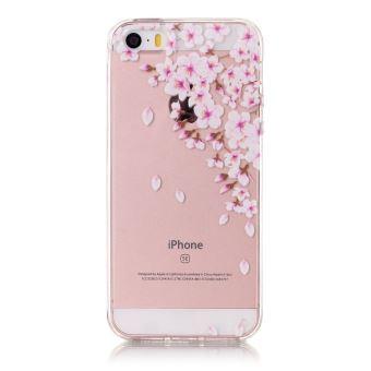coque fleur iphone 5