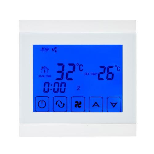 110-130V Climatiseur 2 tubes Thermostat avec écran LCD de bonne qualité d'ambiance programmable à écran tactile Régulateur de temp