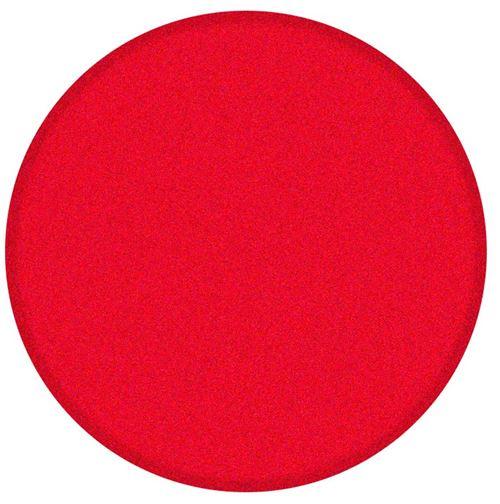 Racoon tampon de polissage dur 150 x 20 mm microfibre rouge