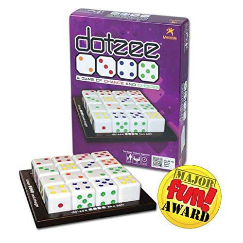 Maranda Enterprises Dotzee - A Game of Chance and Choices!
