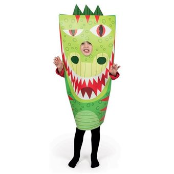 Janod - déguisement en papier sackanimo dragon