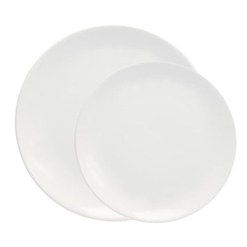 e7f683aa1d3307  strong Novastyl  strong  service de table 12 pieces ibiza blanc 8023350