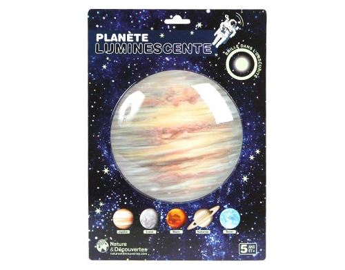 Planète luminescente