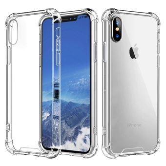 Coque silicone transparente antichoc pour Iphone XS