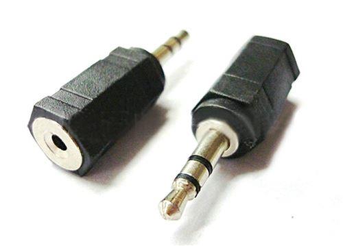 VSHOP® Prise Adaptateur Fiche JACK - 3.5mm MALE vers 2.5mm FEMELLE