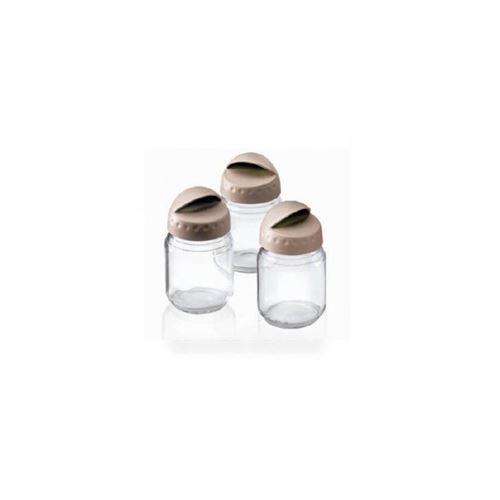pots en verre disney (x3) pour déchiqueteuse tefal