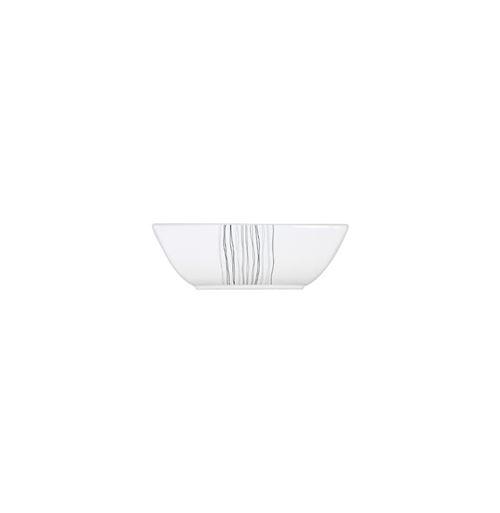 Saladier carré - 24,5 x 24,5 cm - Porcelaine