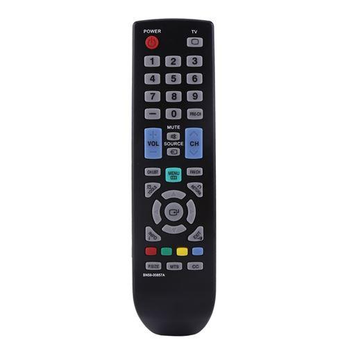 Télécommande BN59-00857A sans pile pour TV LCD HD à LED