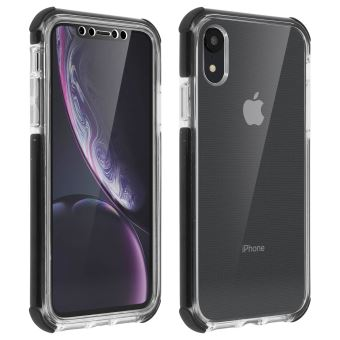 Coque Apple iPhone XR Protection 360 Silicone Gel Force Case Urban Transparent