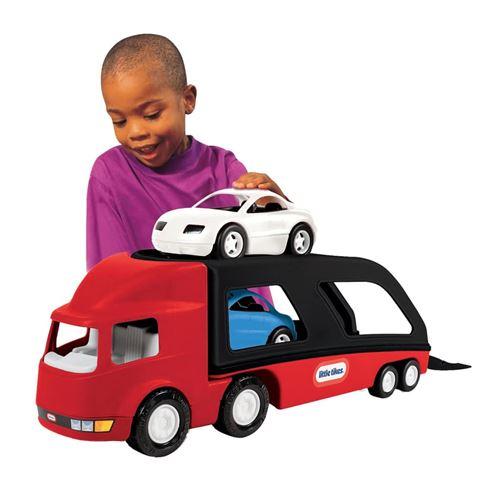 Camion porte voiture rouge/noir Little Tikes LT 484964