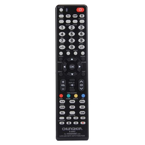 (#103) Universal Remote Controller for HISENSE LED LCD HDTV 3DTV