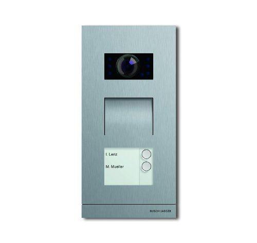Busch-Jäger 83121/2-660 Interphone vidéo extérieur 2 usagers
