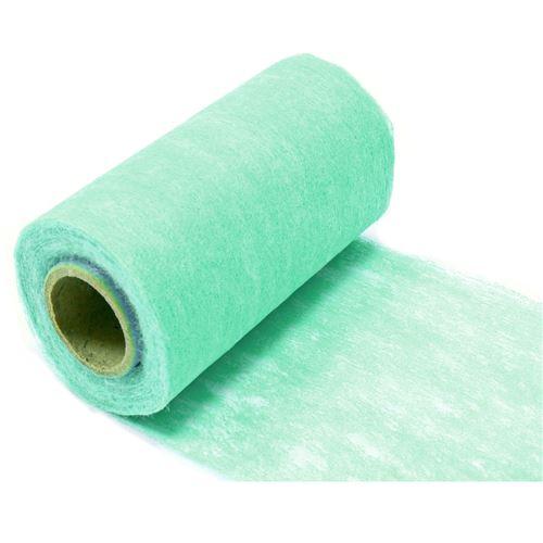 Lot de 10 Rouleaux en tissus non tissé coloris Jade - 10 cm x 10 m