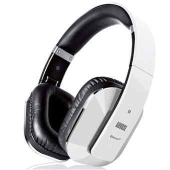 August Ep650 Casque Audio Bluetooth V41 Aptx Nfc Circum Aural